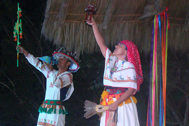 Huichol Ceremony During Azamara's AzAmazing Evenings